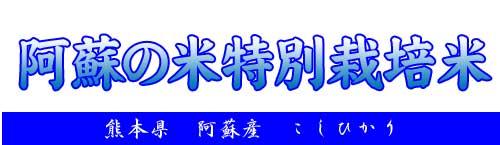 熊本県産・阿蘇・無洗米・コシヒカリ