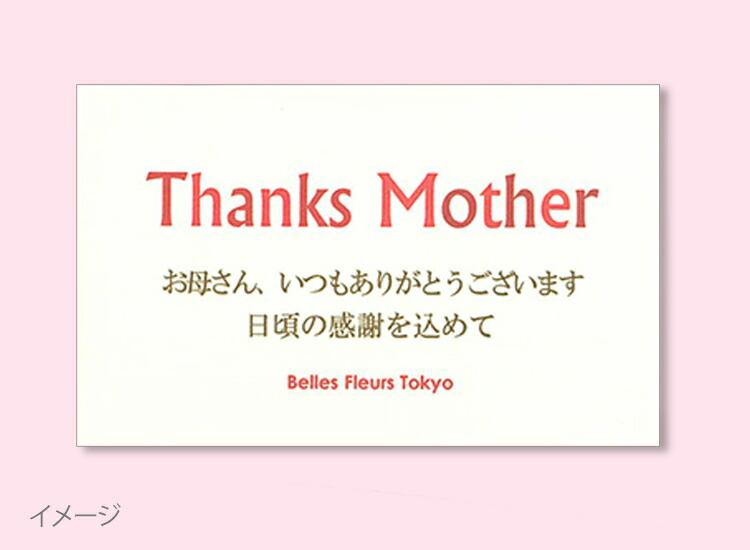 母の日定型文