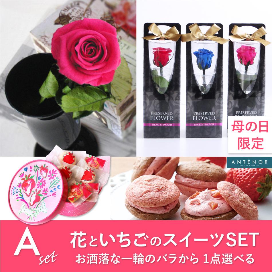 花と苺のスイーツセット【A】