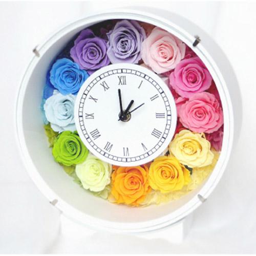丸形花時計