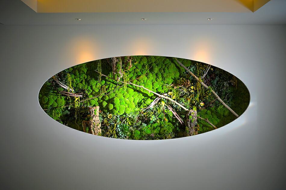安藤忠雄氏設計「目黒 安養院」の壁面装飾