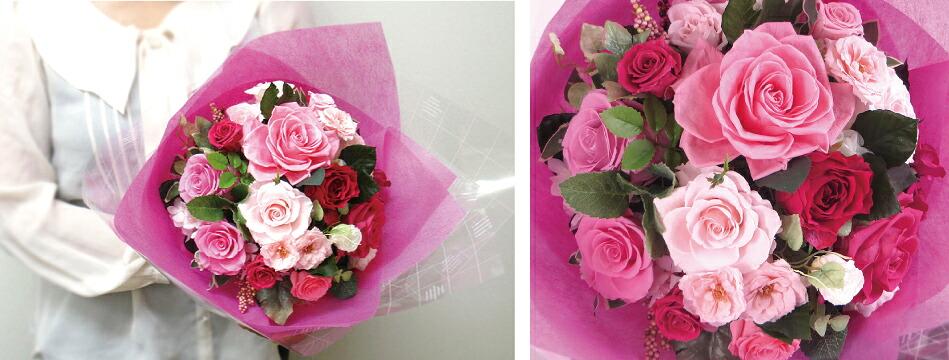 3サイズから選べる花束 Lサイズ画像