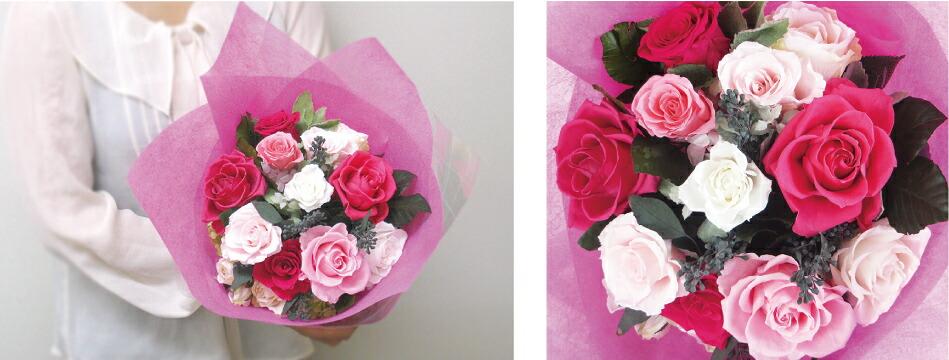 3サイズから選べる花束 Mサイズ画像