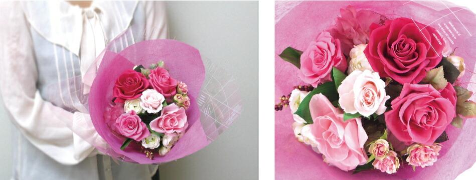 3サイズから選べる花束 Sサイズ画像