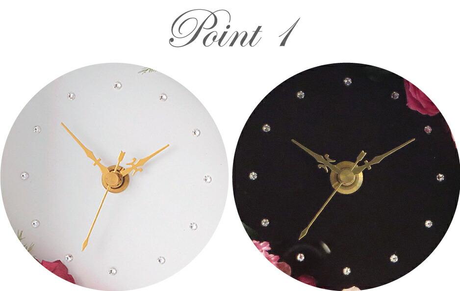 花時計フォトフレーム ディティールポイント1の画像
