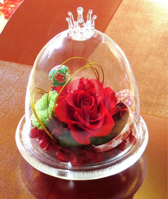 和風ガラスドームの画像