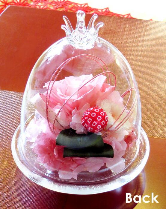 和風ガラスドーム バックの画像
