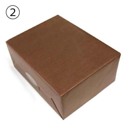 ブラウン包装紙の画像