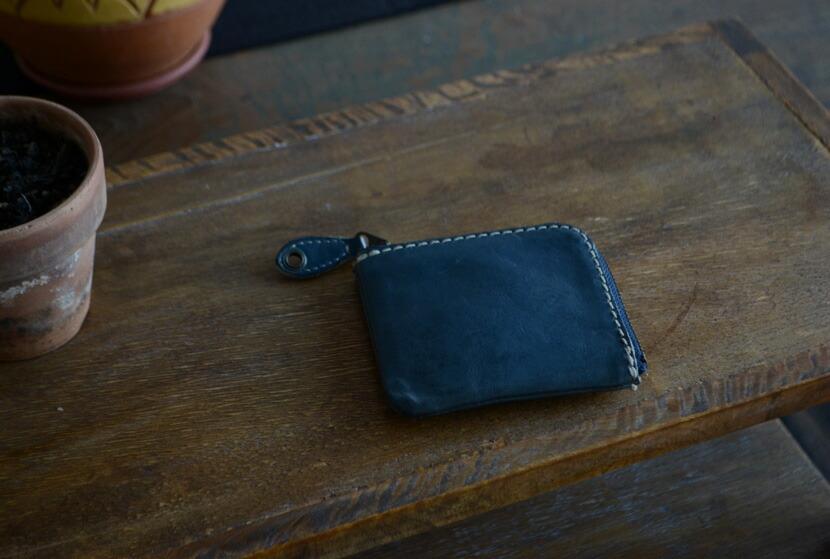 BL-PT-0015 コンパクト財布 ネイビー