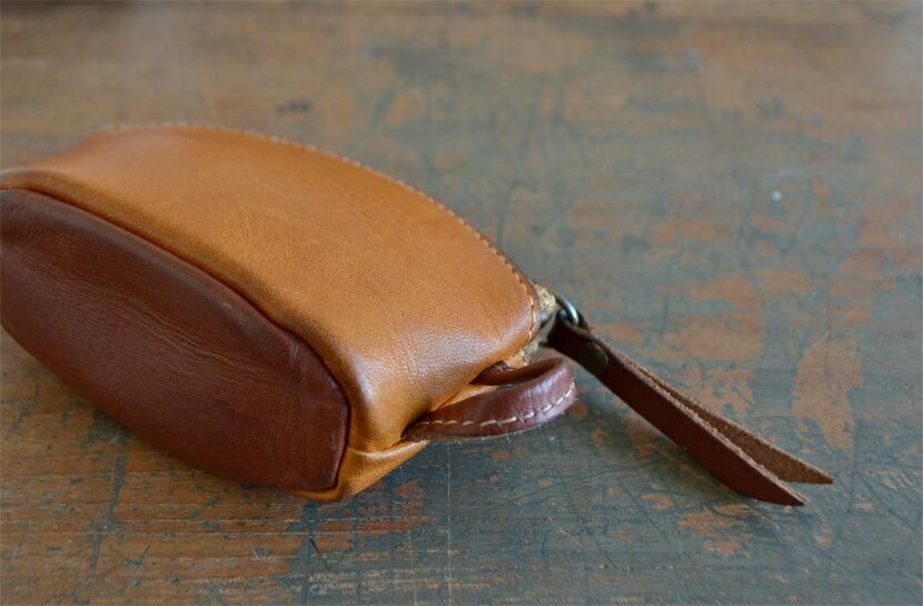 BL-PT-0038 キーバッグ ブラウン×チョコ