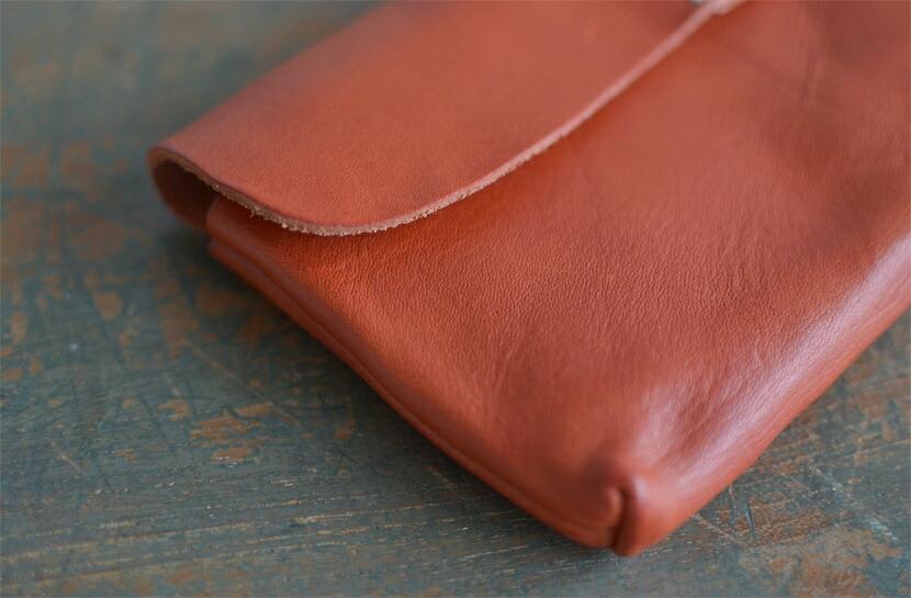 BL-PT-0033 長財布 レッドブラウン