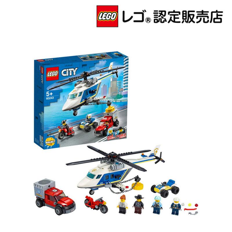 【レゴ(R)認定販売店】レゴ (LEGO) シティ ポリス ヘリコプターの追跡 60243