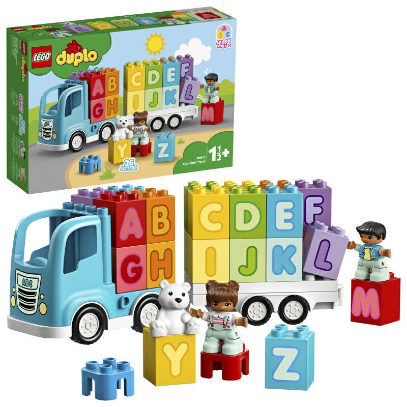 【レゴ(R)認定販売店】レゴ (LEGO) デュプロ はじめてのデュプロ アルファベットトラック 10915
