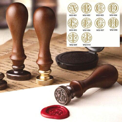◆『封蝋印』シーリングワックススタンプ丸型A~J... 【楽天市場】◆『封蝋印』シーリングワック