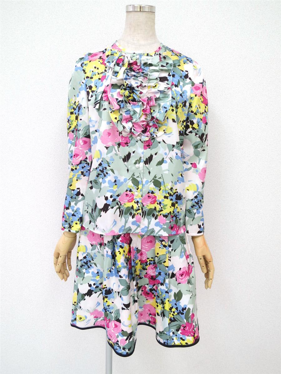 エムズグレイシー 花柄セットアップスカート