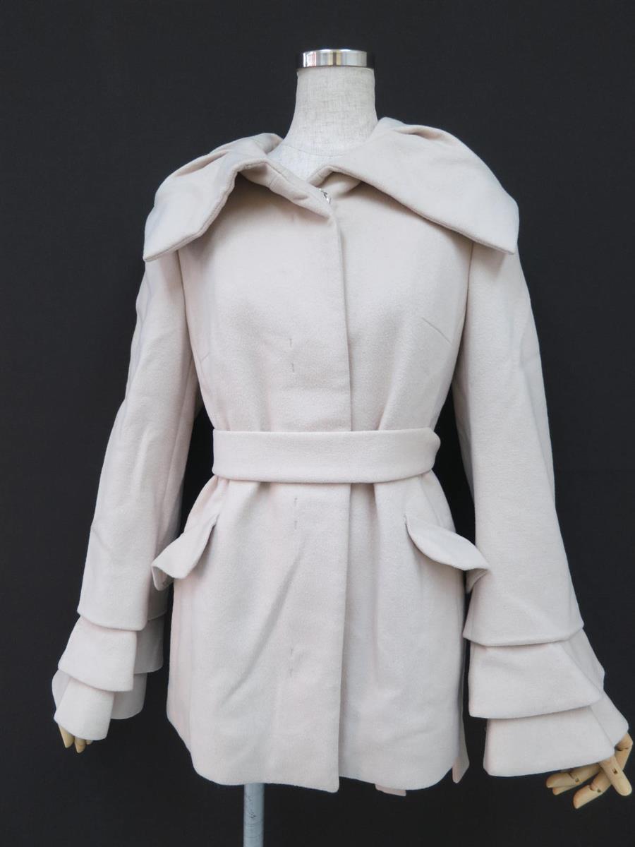 コート 衿付きウールコート