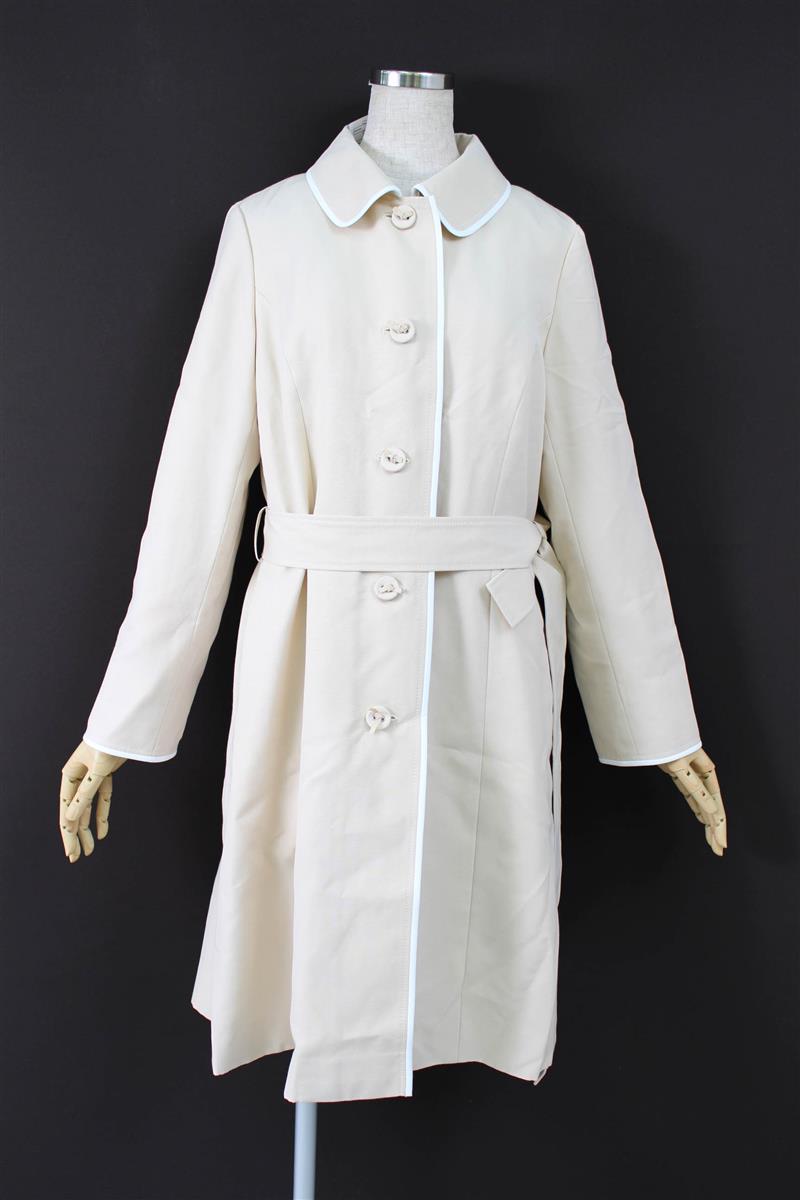 エムズグレイシー コート 衿付きロングコート