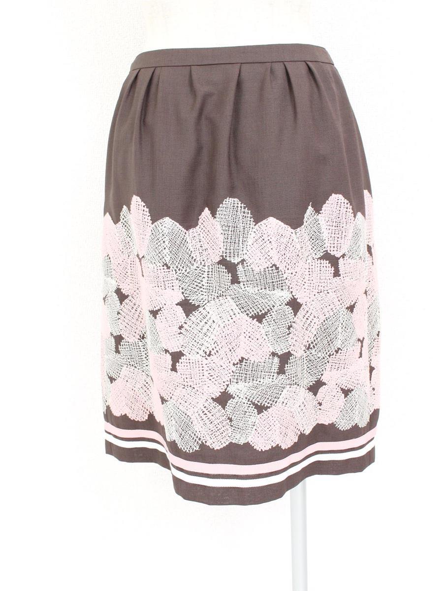 エムズグレイシー 刺繍スカート