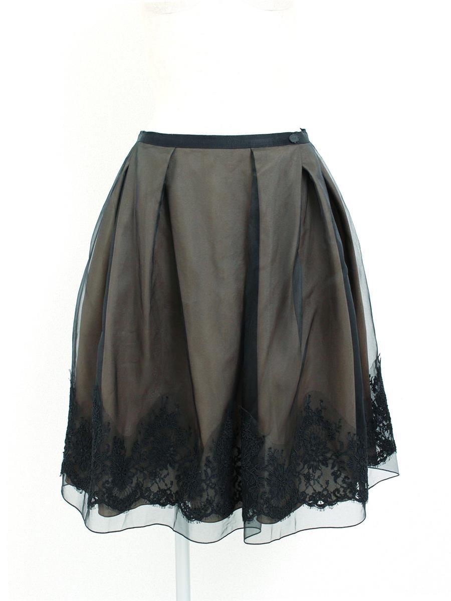 フォクシーブティック スカート シルク オーガンジー