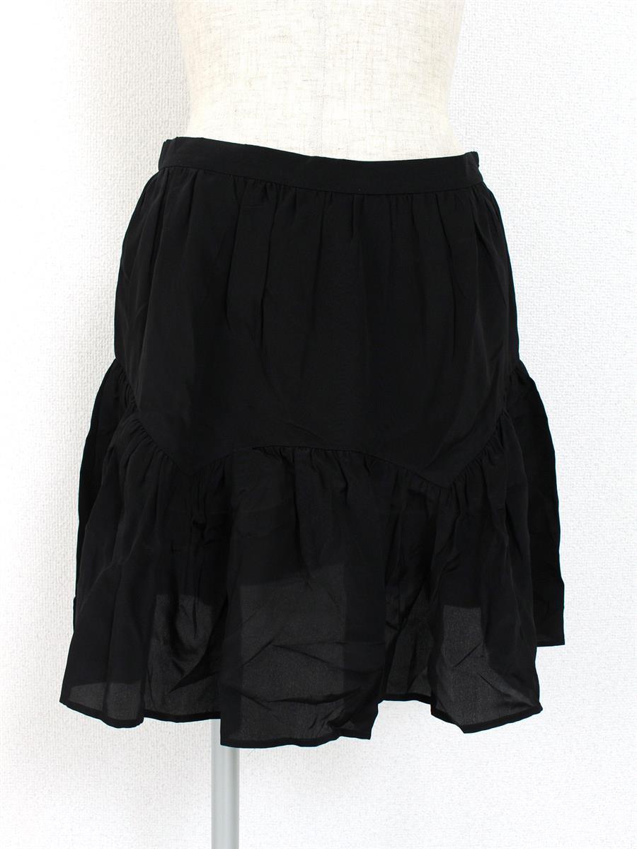 ミュウミュウ スカート シルク