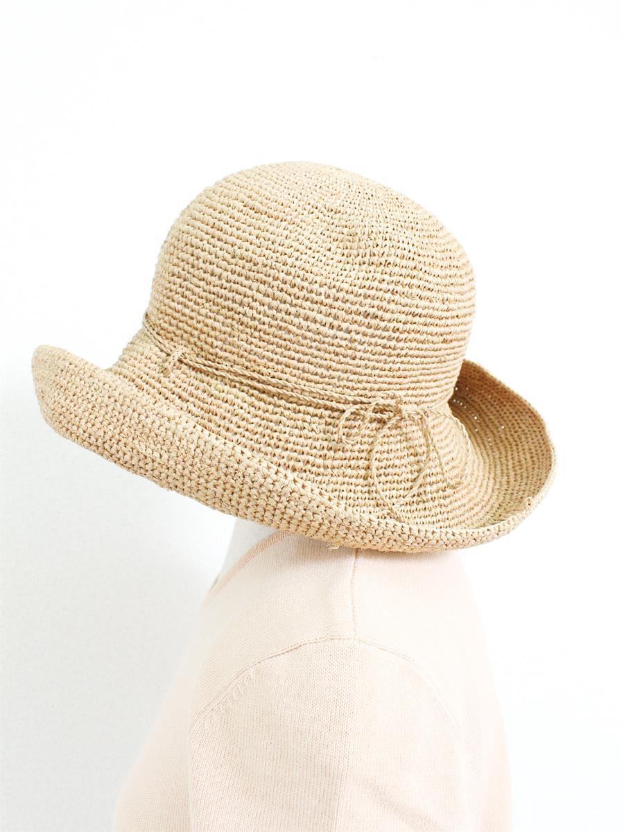 ヘレンカミンスキー 麦わら帽子 【HELEN KAMINSKI/ヘレンカミンスキー】ラフィアハット帽子 小さな飛び出しあり
