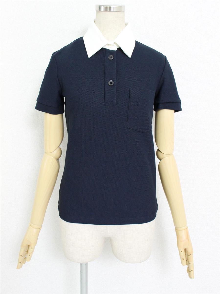 プラダ トップス ポロシャツ 半袖