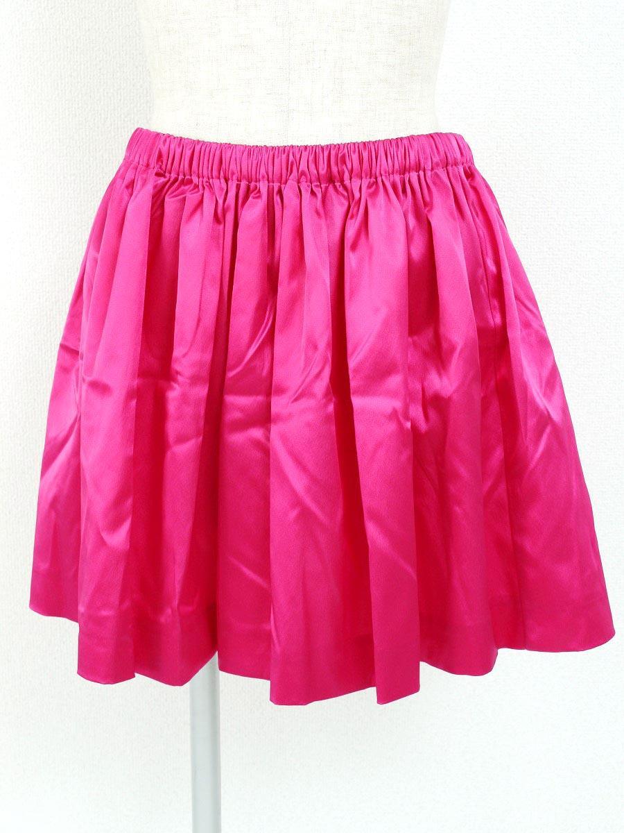ミュウミュウ スカート ギャザー