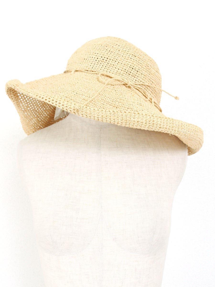 ヘレンカミンスキー プロバンス ラフィアハット帽子