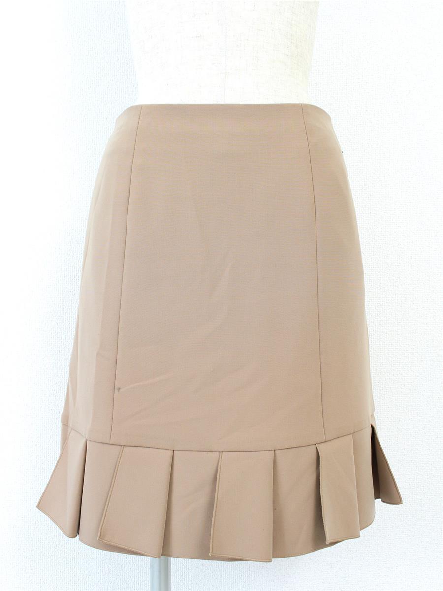 フォクシーニューヨーク スカート ラペル 小さな汚れあり