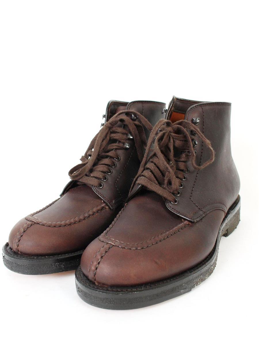オールデン 靴 タンカーブーツ ブラウン