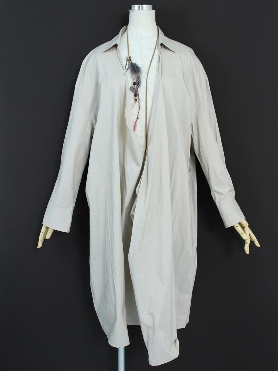 ウィムガゼット ワンピース 衿付 長袖
