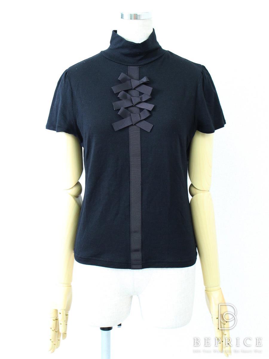 エムズグレイシー トップス 半袖胸リボン