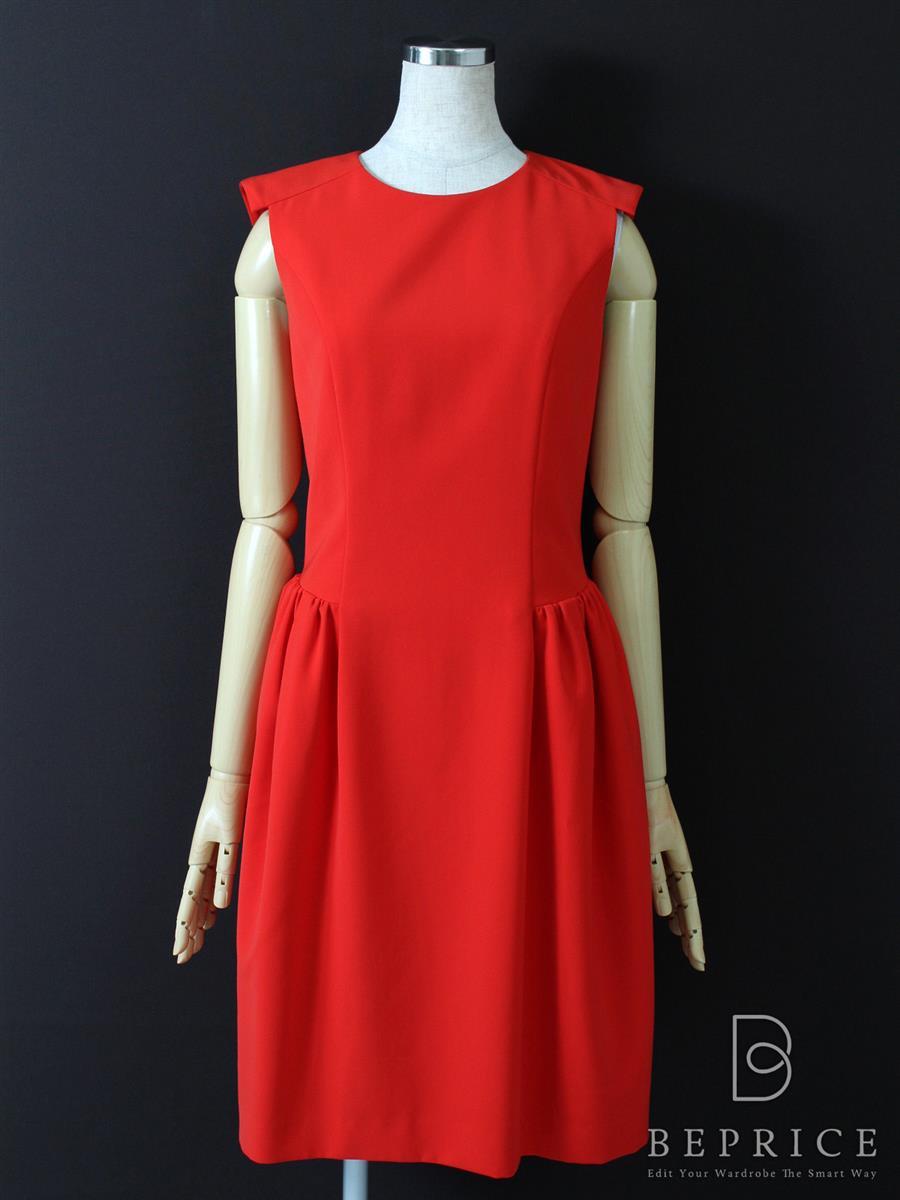 フォクシーニューヨーク ワンピース カラーグレシャスドレス