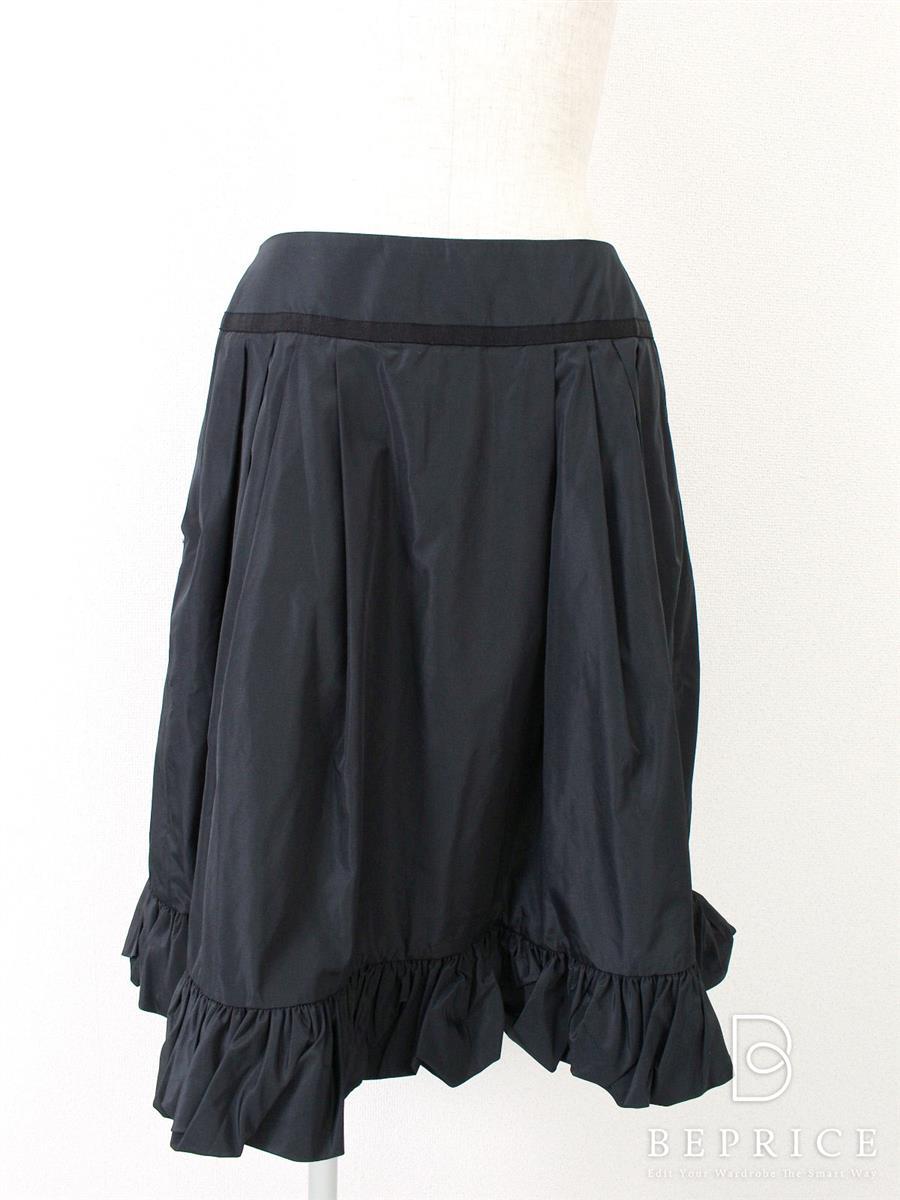フォクシーブティック スカート 裾ギャザー
