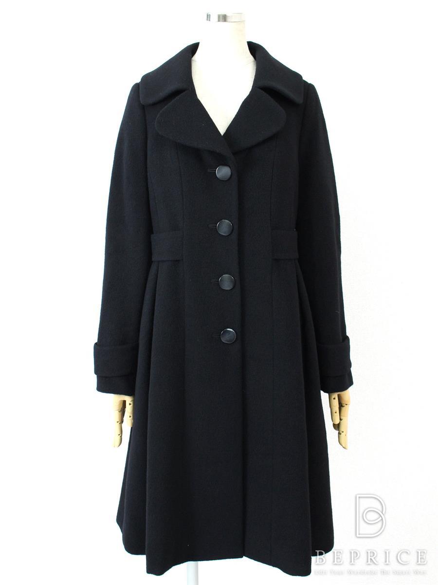 ロングコート ブラック