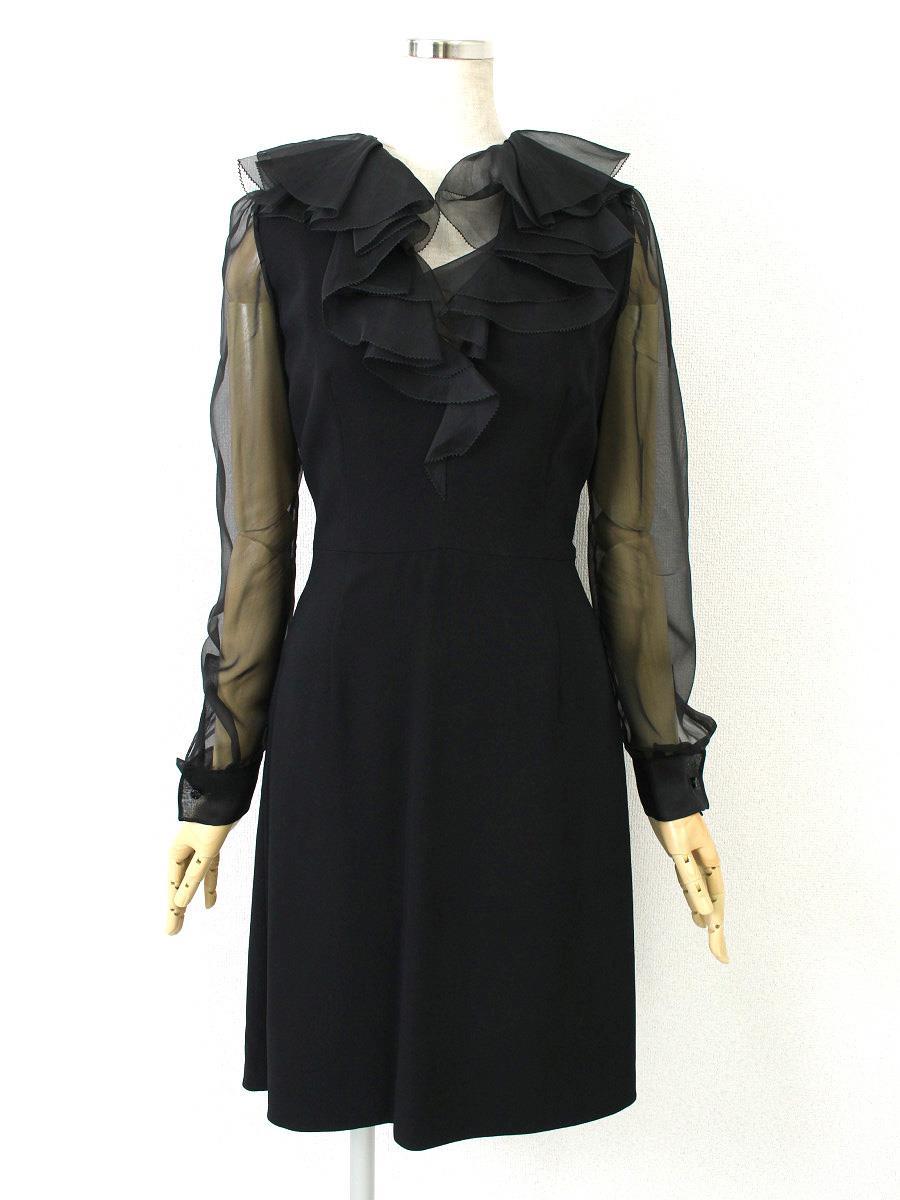 ヴァレンティノ ワンピース フリル ドレス