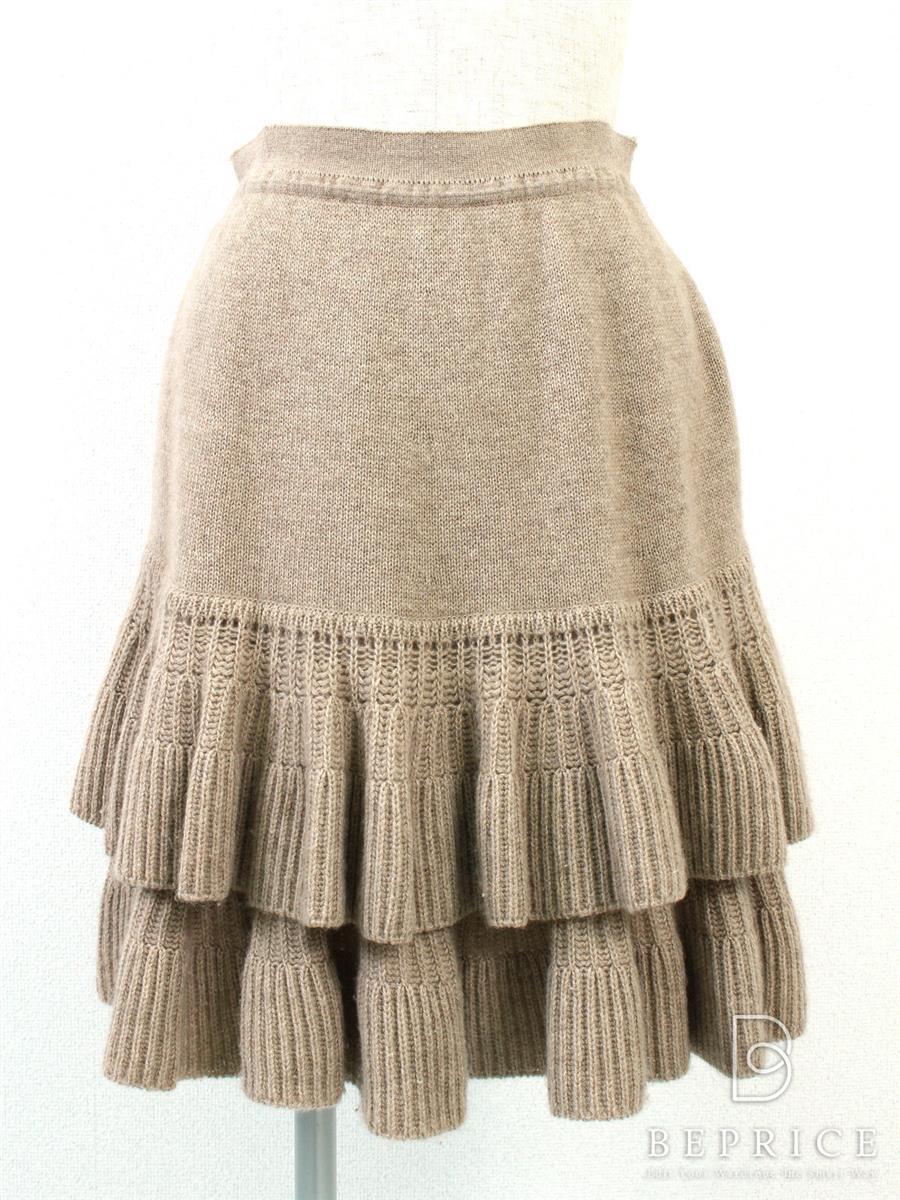 フォクシー スカート ニット 小さな糸ツレあり