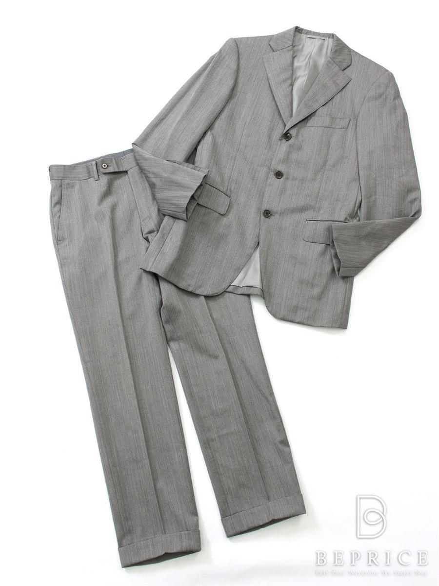 ビームス スーツ ジャケット ストライプ 3B