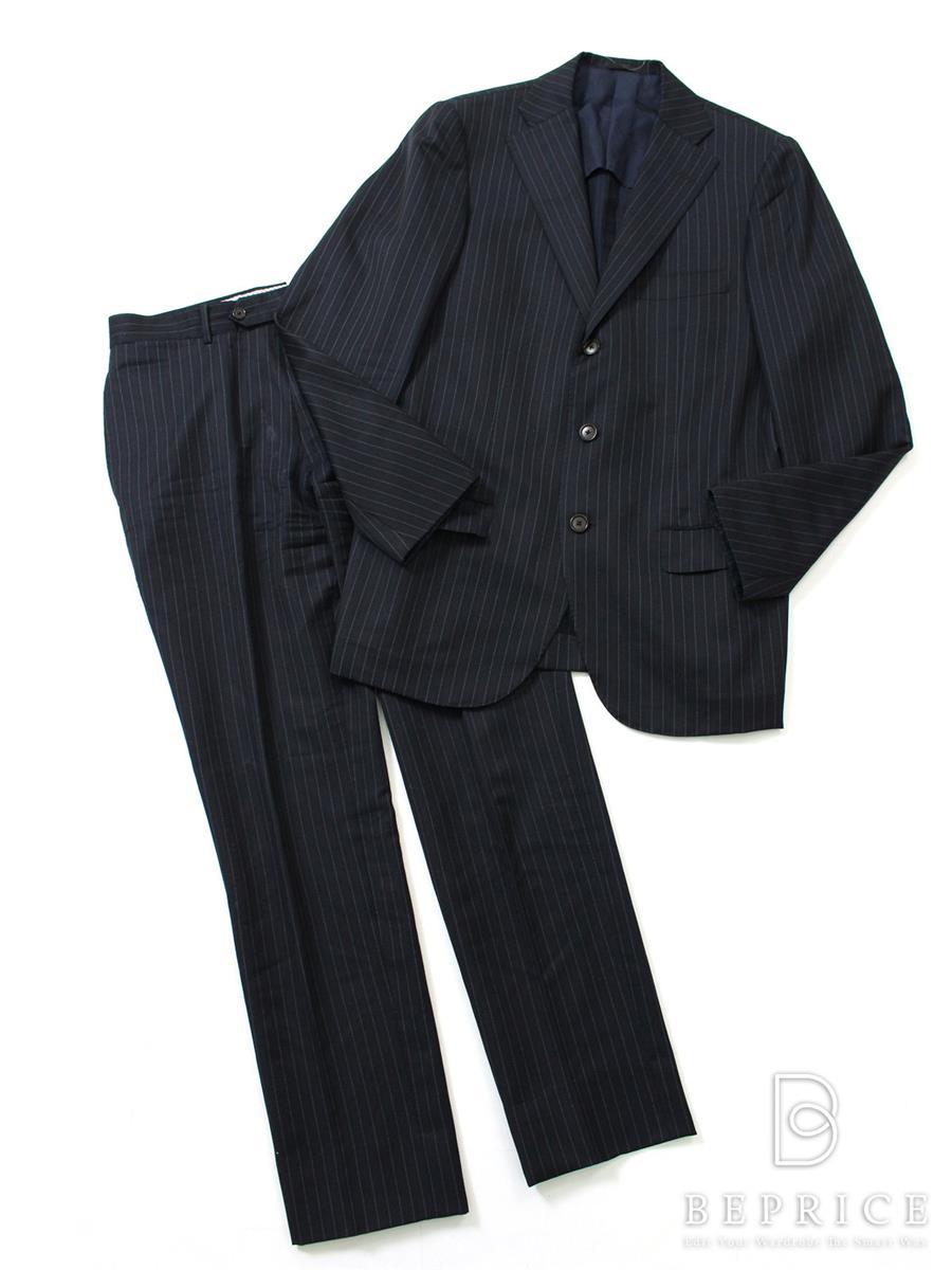 トゥモローランド スーツ ジャケット ストライプ