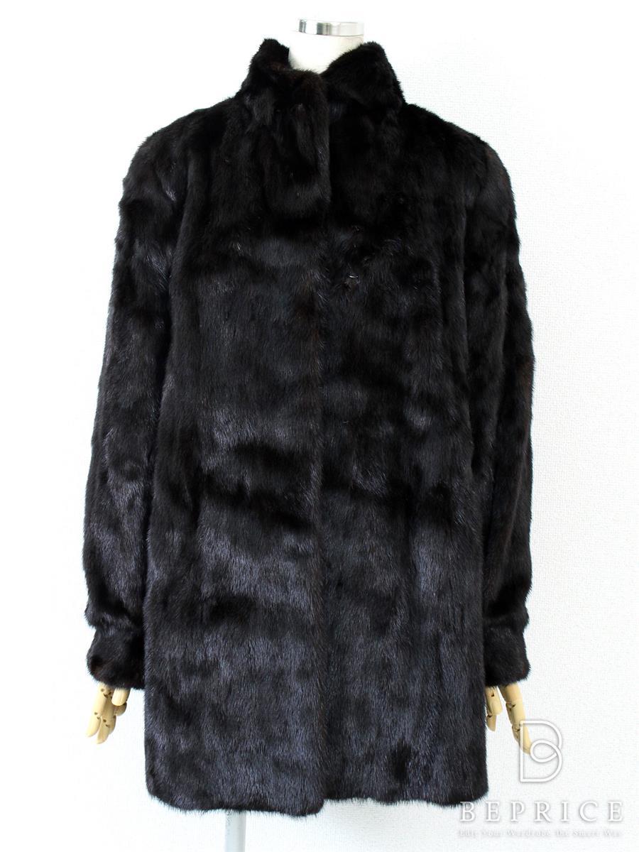 ブラックグラマ ブラックグラマー 毛皮ミンクコート