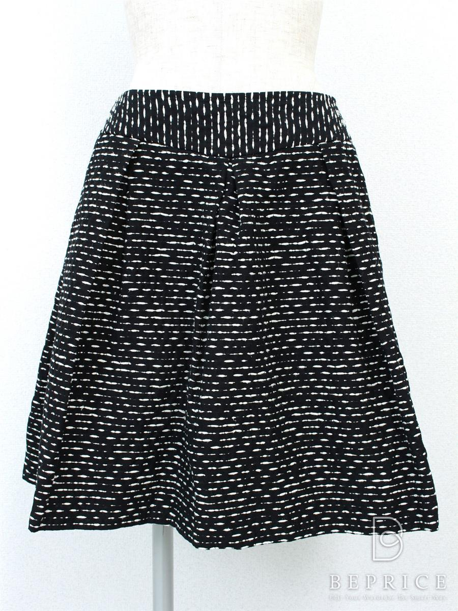 ルネ スカート フレアー 2012年 ブラック