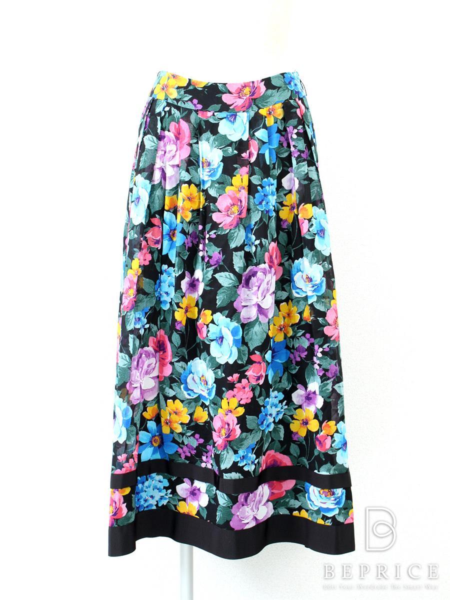 エムズグレイシー スカート ロング 花柄