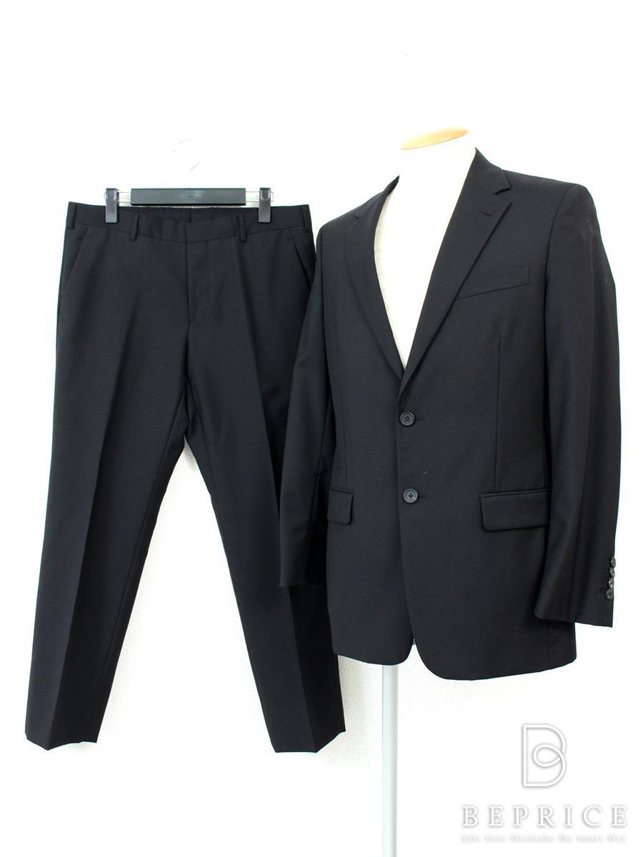 プラダ スーツ ジャケット ブラック