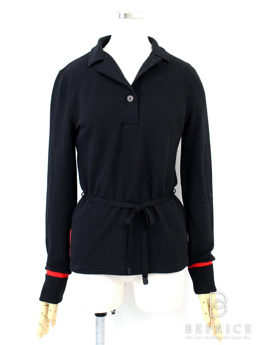 プラダ トップス ポロシャツ 長袖