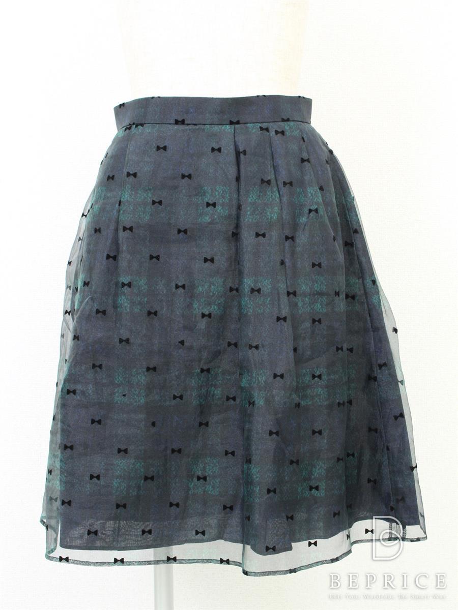 トッカ スカート リボン柄