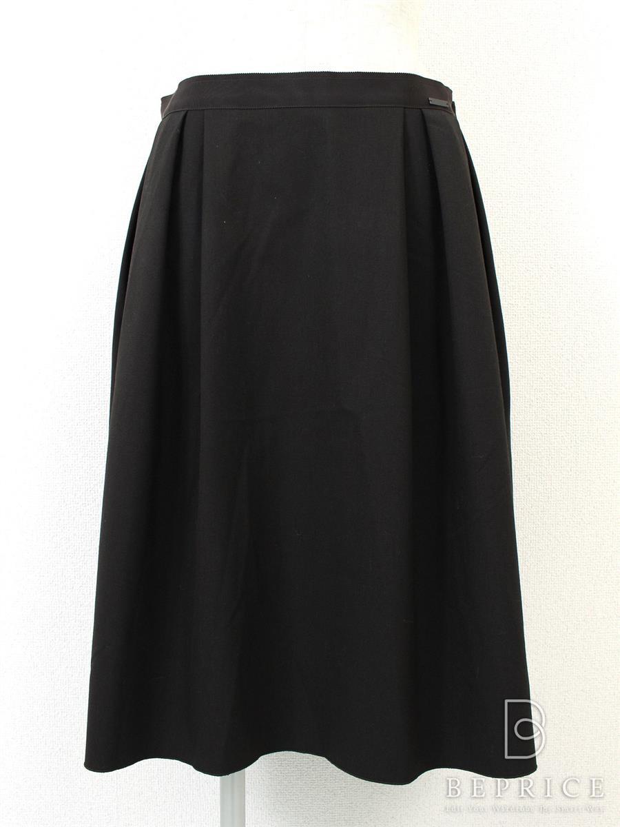 フォクシー スカート スカート バックプリーツ 33961