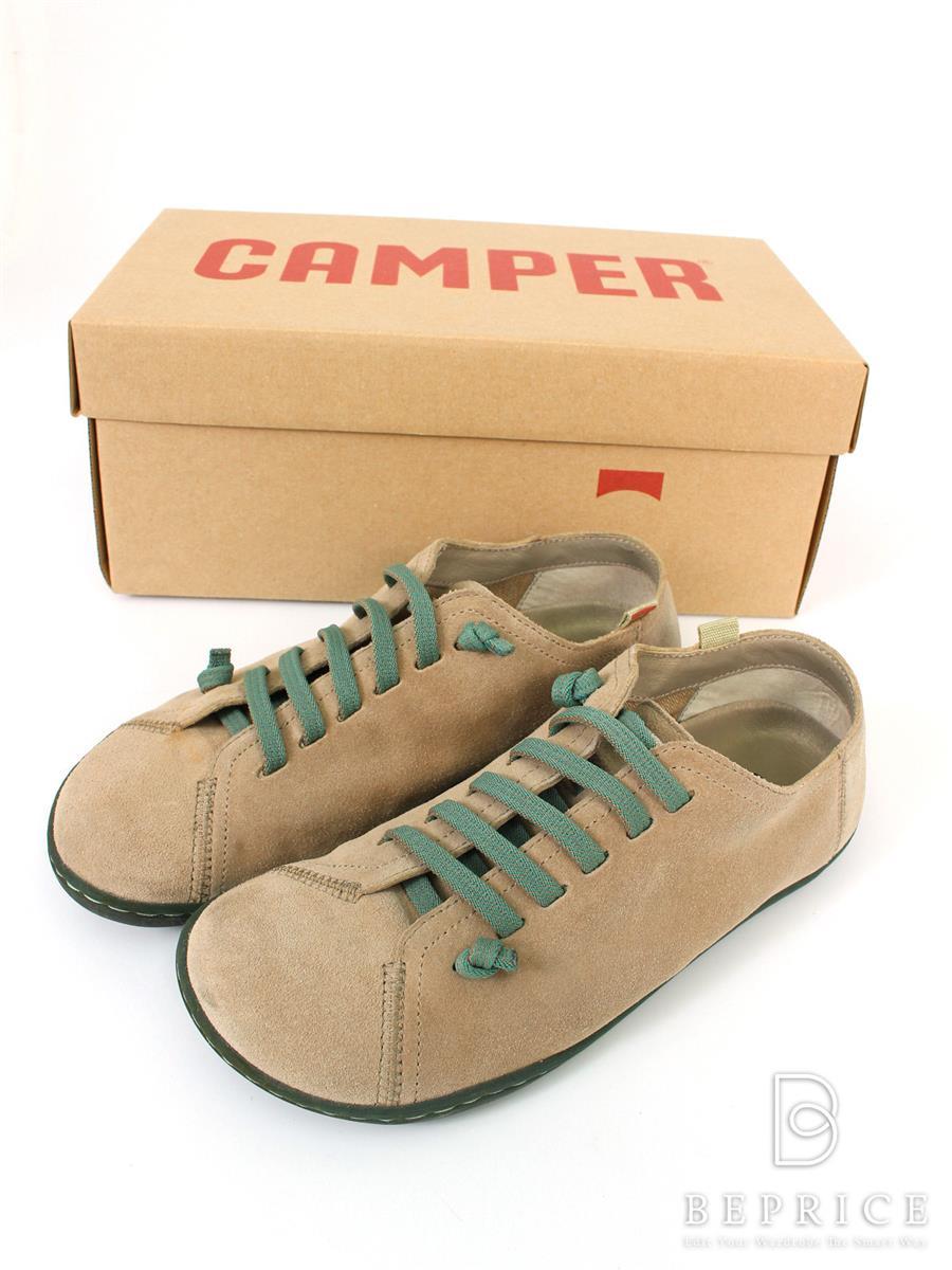 カンペール 靴 スニーカー スエード