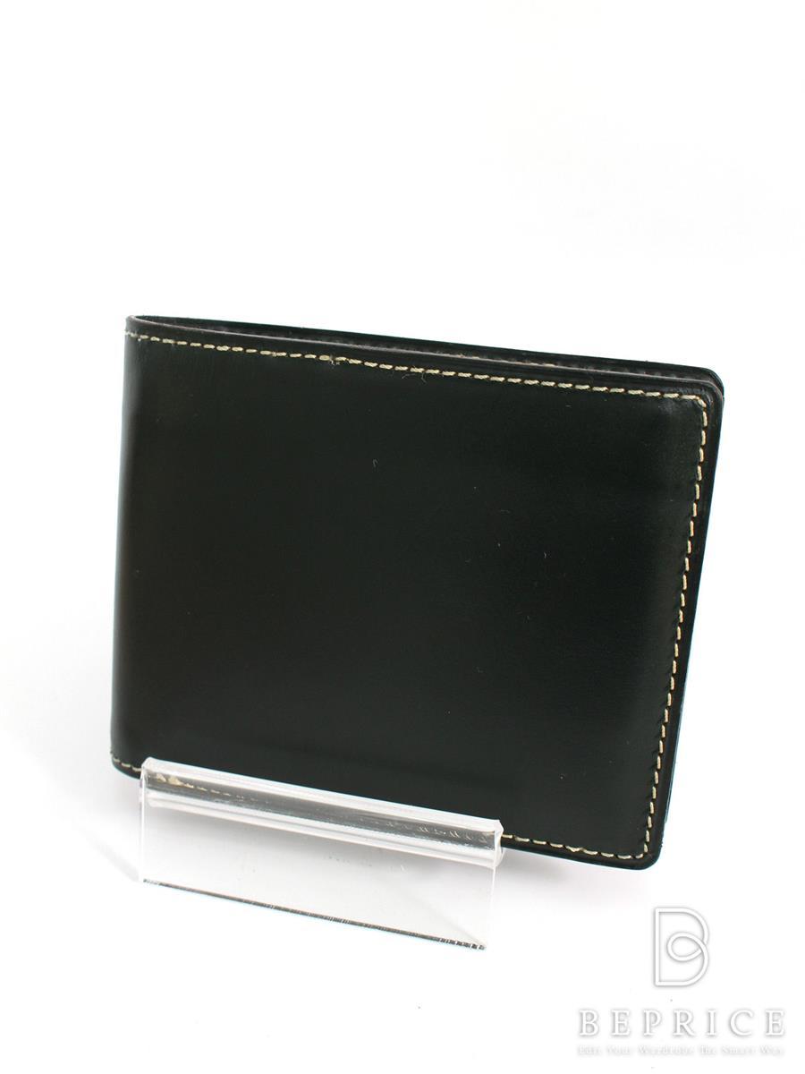 ガンゾ ブライドルカジュアル 58178 二つ折り財布 変色