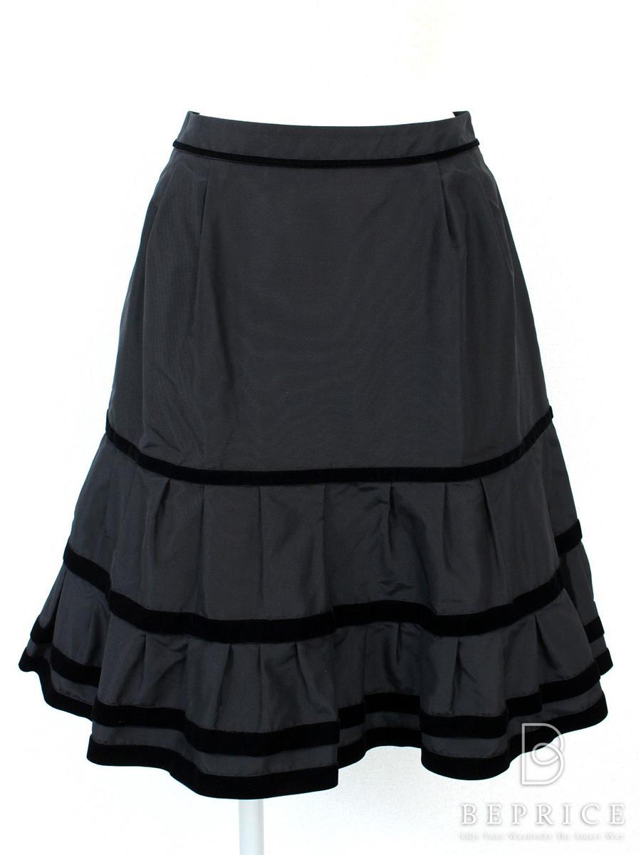 フォクシーブティック スカート ベルベットリング