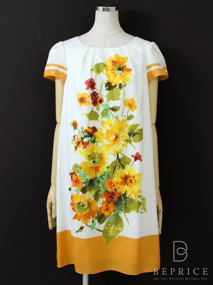 エムズグレイシー ワンピース ワンピース 半袖 花柄